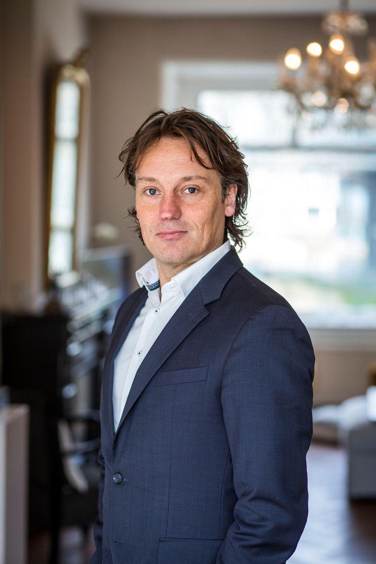 Johnas van Lammeren zit in de Amsterdamse raad sinds 2010. Beeld Arie Kieviet