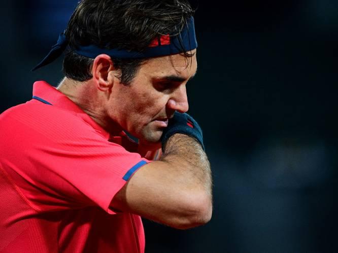 Roger Federer trekt zich na slopende match terug uit Roland Garros