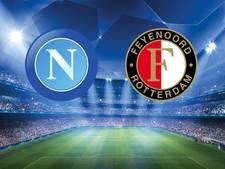 Feyenoord staat voor loodzware klus in Napels