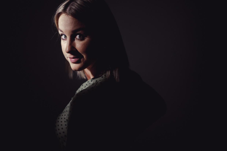 Kat Kerkhofs: 'Mijn zus heeft me ooit een koelkast genoemd.' Beeld © Stefaan Temmerman