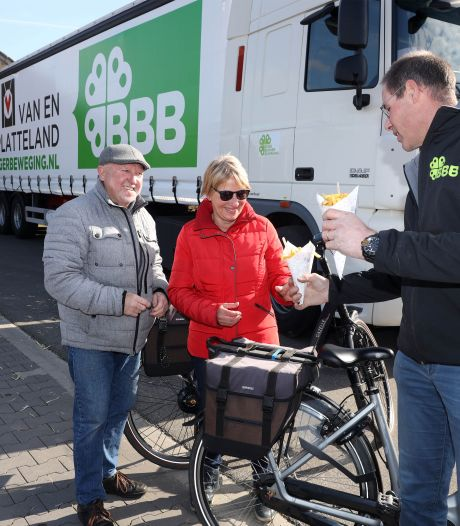 BoerBurgerBeweging doet rondje Zeeland met Zeeuwse frieten in Hulst