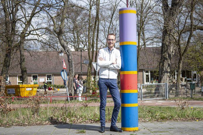 Maarten Bomans, voorzitter van de buurtvereniging Herike-Elsen.