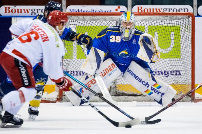 Ian Meierdres in actie tegen Hannover Scorpions.