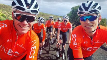 KOERS KORT. Froome wel degelijk op stage met Team Ineos - Viviani rijdt Gent-Wevelgem en Ronde van Vlaanderen