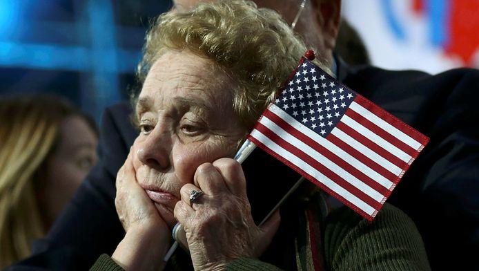 De teleurstelling is groot bij de Clinton-aanhangers.
