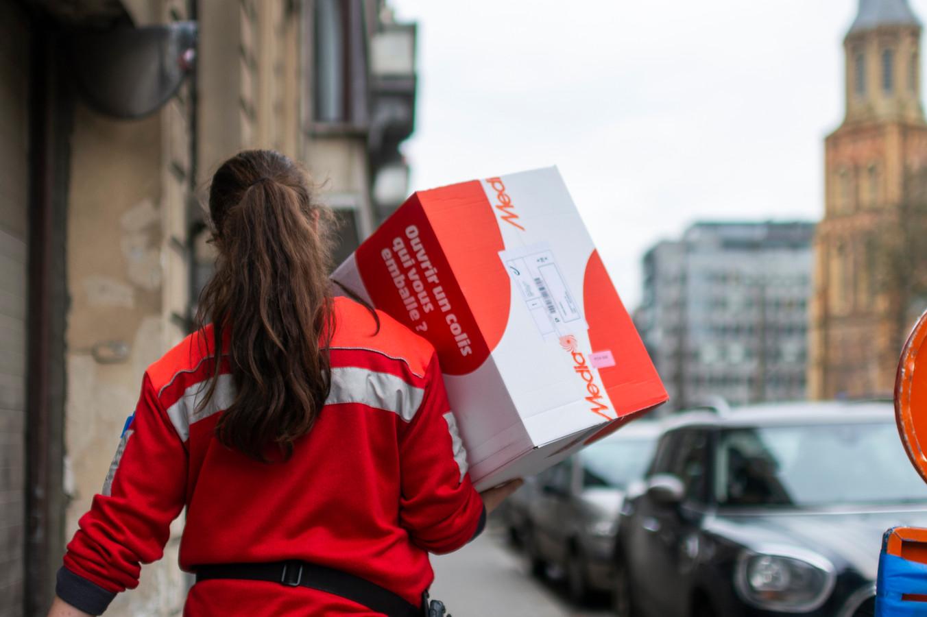 28122020 Antwerpen bpost    Pakjes leveren BPOST