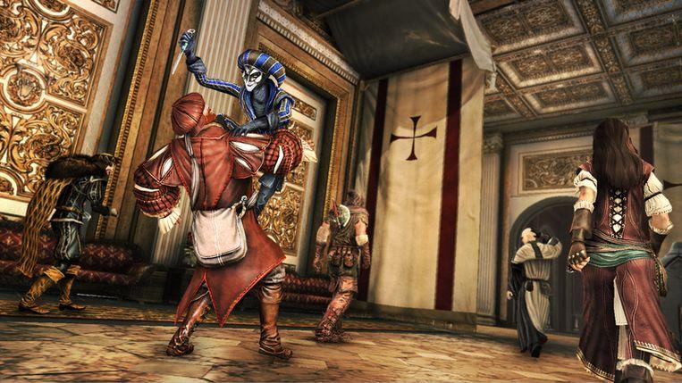 In de volledige game zijn nog meer personages beschikbaar, zoals de harlekijn. Beeld UNKNOWN