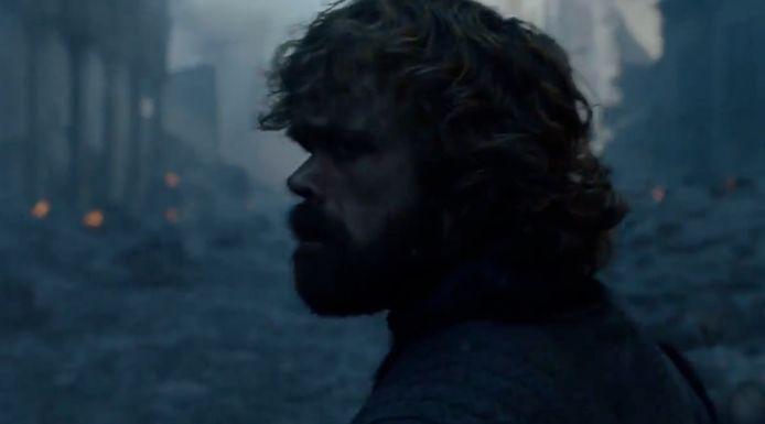 Tyrions hart breekt door de ravage.