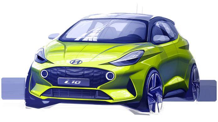 Hyundai onthult de nieuwe i10 in september