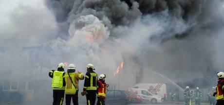 Brandschade bloemenhandel in Gildehaus rond 1 miljoen euro