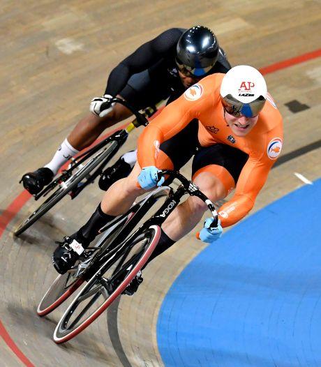 Hoogland en Lavreysen naar laatste vier sprint, Van Schip klimt