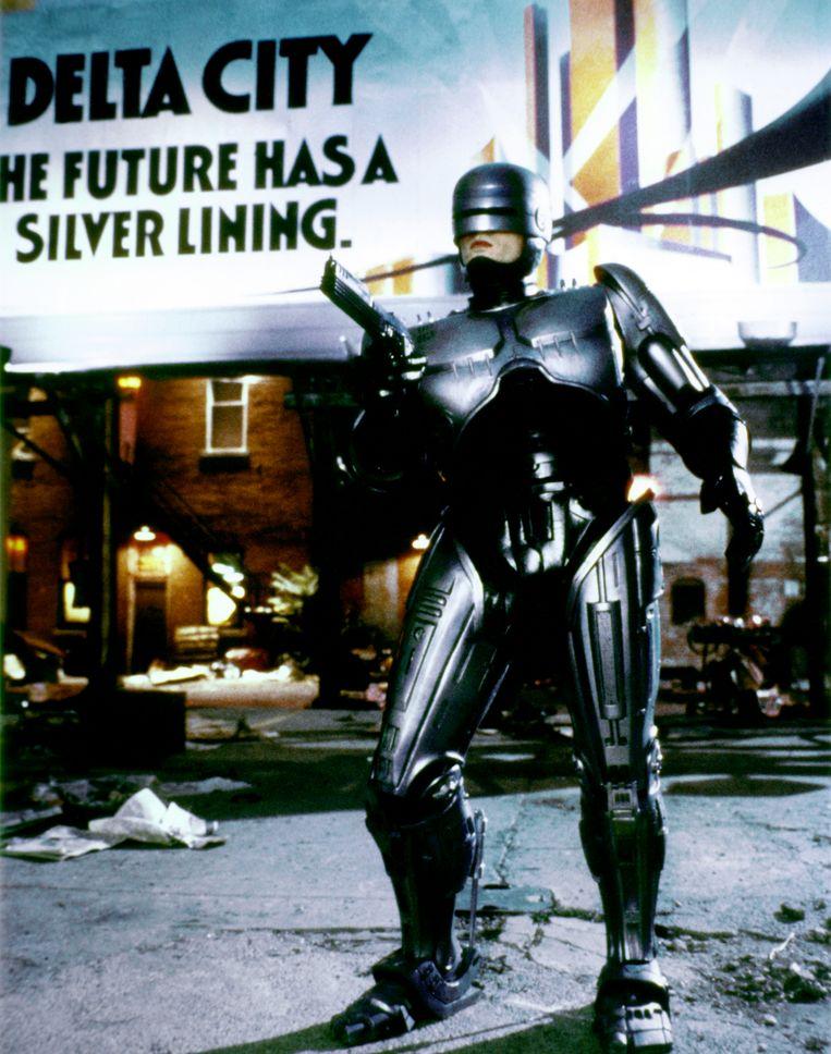 Peter Weller in RoboCop. Beeld Corbis via Getty Images