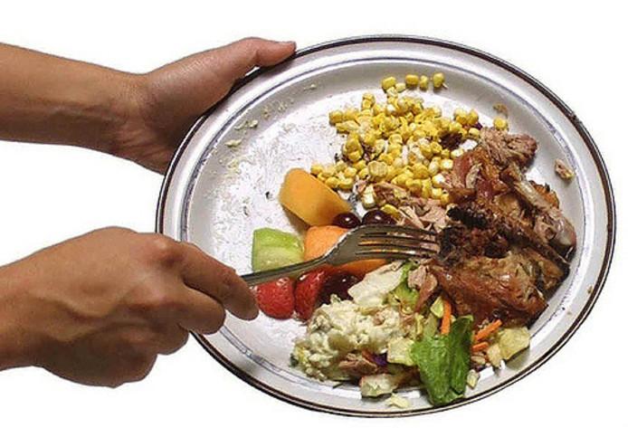 Voedselverspilling.