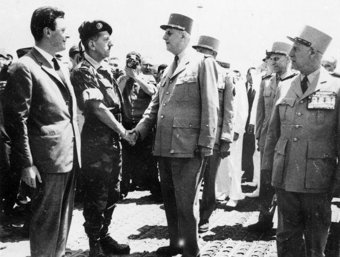 Le général De Gaulle à Alger en juin 1958