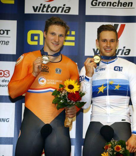 Lavreysen verslaat Hoogland in Europese sprintfinale