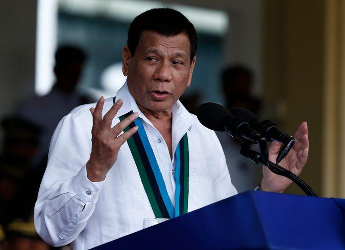 De Filipijnse president Duterte reageerde op het onderzoek naar buitengerechtelijke executies door uit het Internationaal Strafhof te stappen.