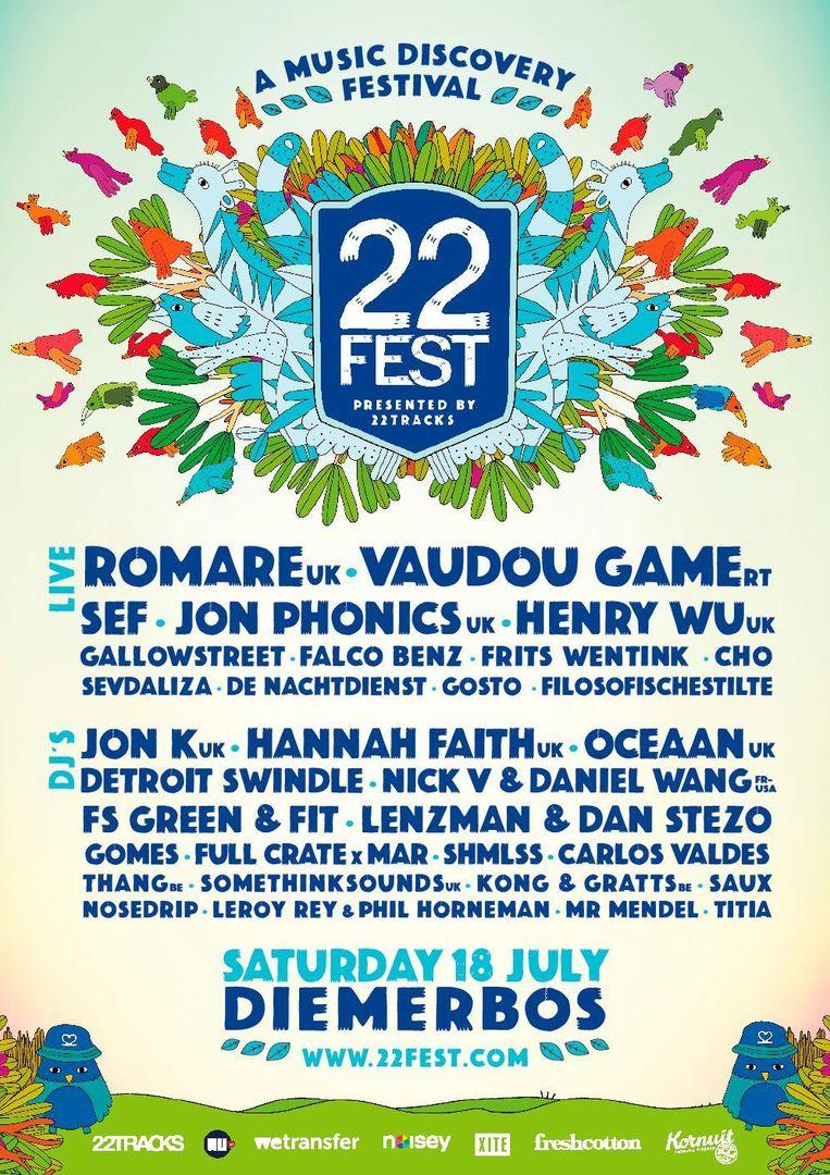 22fest in het Diemerbos Beeld -