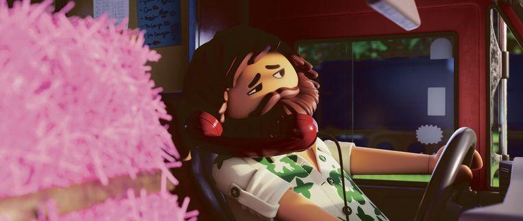 Del, het personage Sander van de Pavert in Playmobil de film Beeld Independent Films