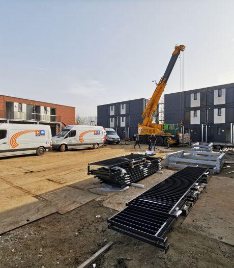 Nieuwbouw voor arbeidsmigranten in Sluiskil in handomdraai neergezet