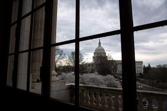 Het Capitool in Washington, de thuishaven van het Amerikaans Congres.