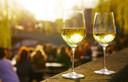 Een wijntje in de zon