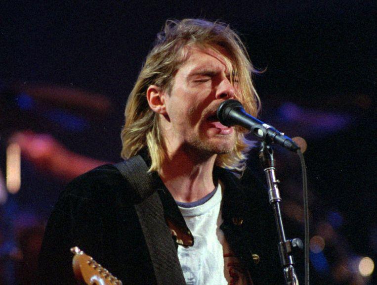 Kurt Cobain Beeld AP