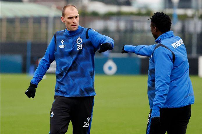 Bas Dost moet voortaan voor de Brugse goals zorgen.