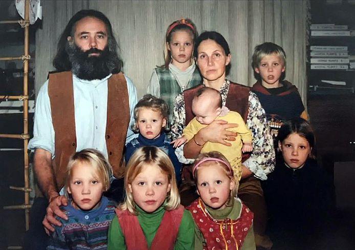 Beeld uit de docu De kinderen van Ruinerwold