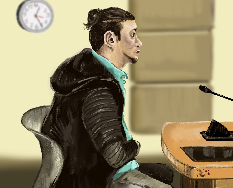 Aalaa Z. wordt poging moord ten laste gelegd.