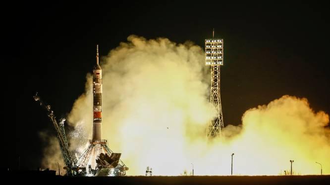 Poging 2: astronauten die noodlanding moesten maken na mislukte lancering, op weg naar ISS