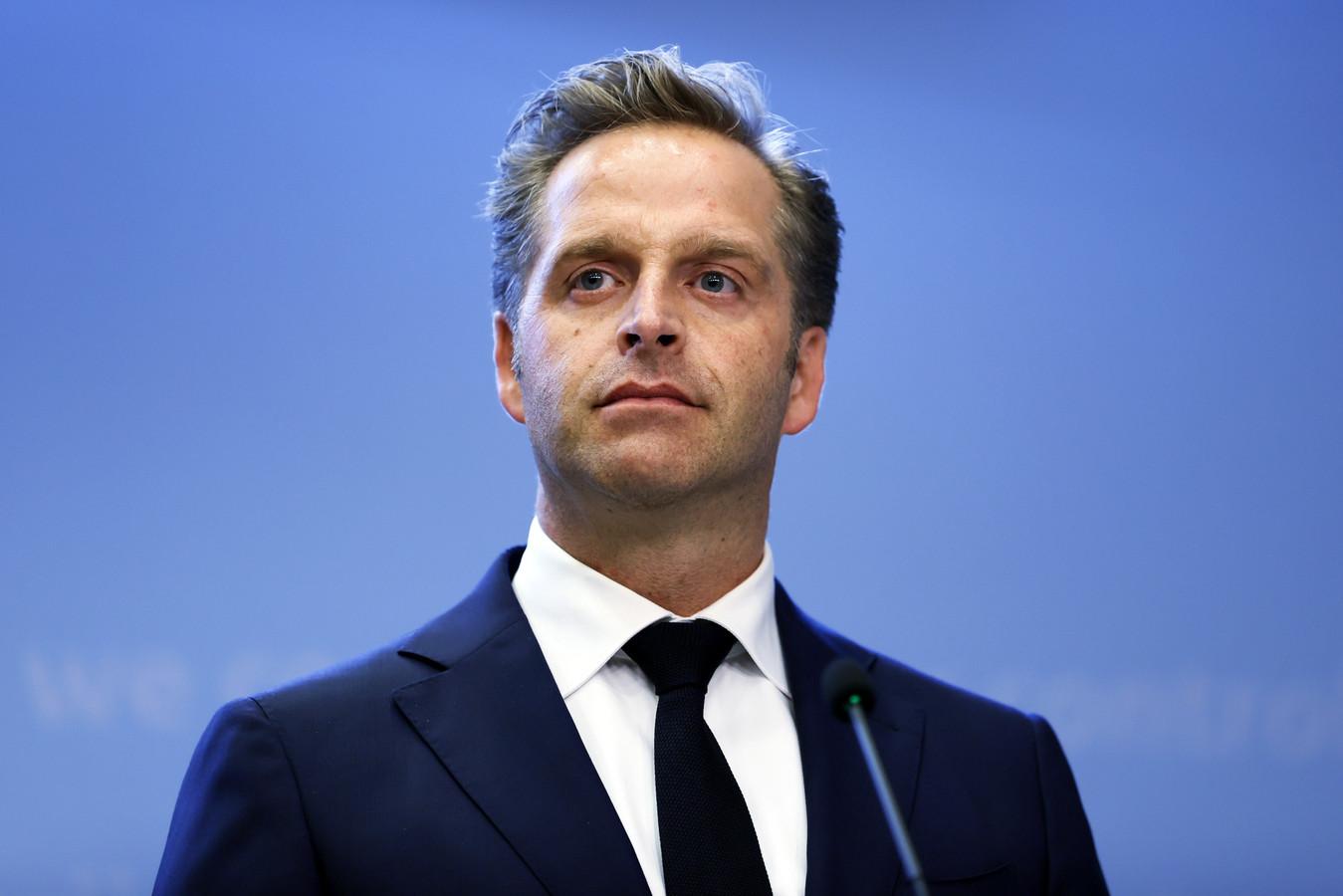Demissionair minister Hugo de Jonge (Volksgezondheid, CDA).