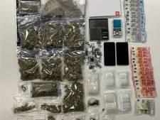 Politie vindt cocaïne, cannabis, hasjies en xtc-pillen bij huiszoeking