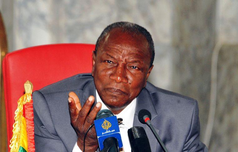 President Alpha Condé. Beeld afp