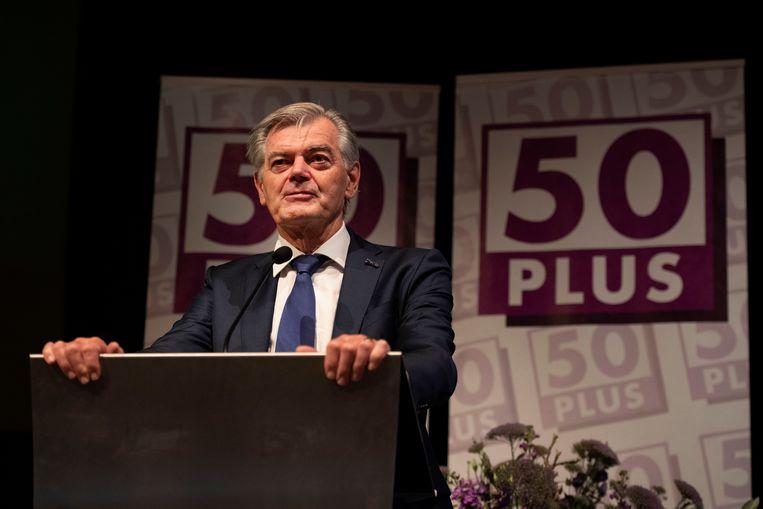 Martin van Rooijen, fractievoorzitter voor 50Plus in de Eerste Kamer. Beeld HH,  ANP