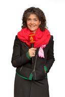 Dieuwertje presenteert het Sinterklaasjournaal sinds de start in 2001.