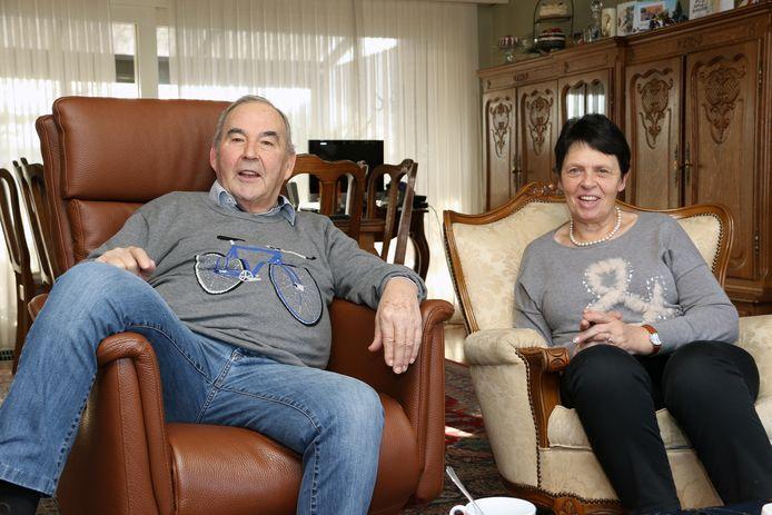 Suske Verhaegen met zijn vrouw Liliane.