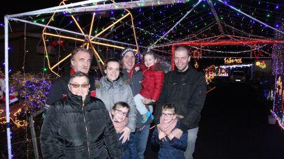 Het mooiste kersthuis van de regio staat in Lauwe en telt meer dan 50.000 lichtjes