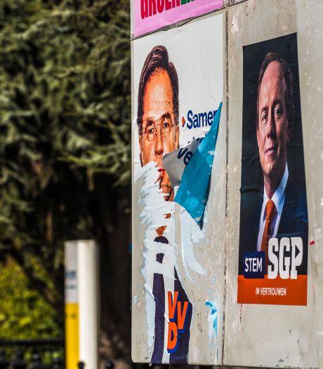 Verkiezingsposters bekladden en vernielen: dat mag niet en is zelfs strafbaar