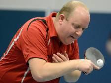 Thijs Smit sneuvelt in achtste finales NK tafeltennis