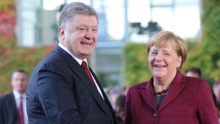 Angela Merkel: 'We verwachten zeker geen wonderen.' Beeld EPA