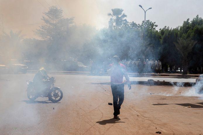 Onrust in de Malinese hoofdstad Bamako. Illustratiebeeld.