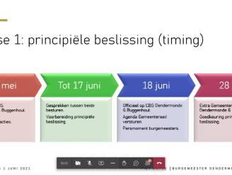 """Tijdspad fusieplannen tussen Buggenhout en Dendermonde voorziet principsbeslissing op 28 juni, oppositiepartij Open Vld Buggenhout woedend: """"Dit is lachen met de burgers"""""""
