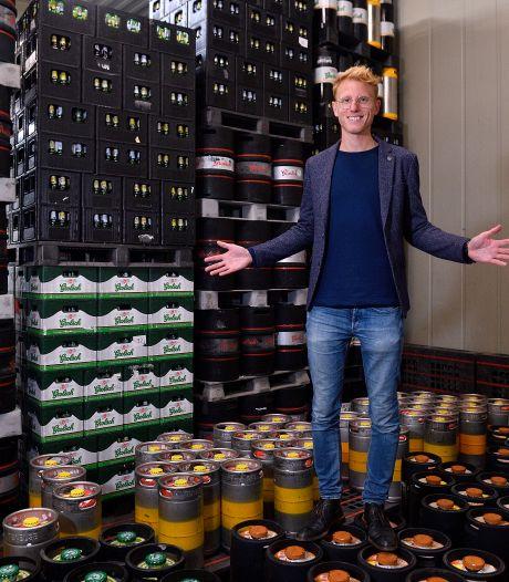 Amersfoortse horecagroothandel heeft nog voor tonnen aan drank in magazijn: '0 euro omzet'