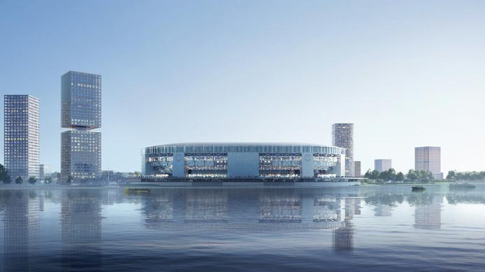 Impressie nieuwe Feyenoordstadion