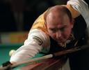Louis Havermans later in de jaren negentig in actie. In 1991 maakte hij het beslissende punt voor Teletronika in de Europacupfinale.
