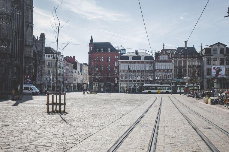 In Gent gaan de maatregelen woensdag om middernacht in.  Beeld Wannes Nimmegeers