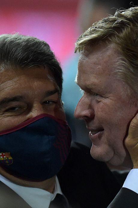 Ronald Koeman: 'Dat zegt veel over hoe Lionel Messi beleeft wat er gebeurt'