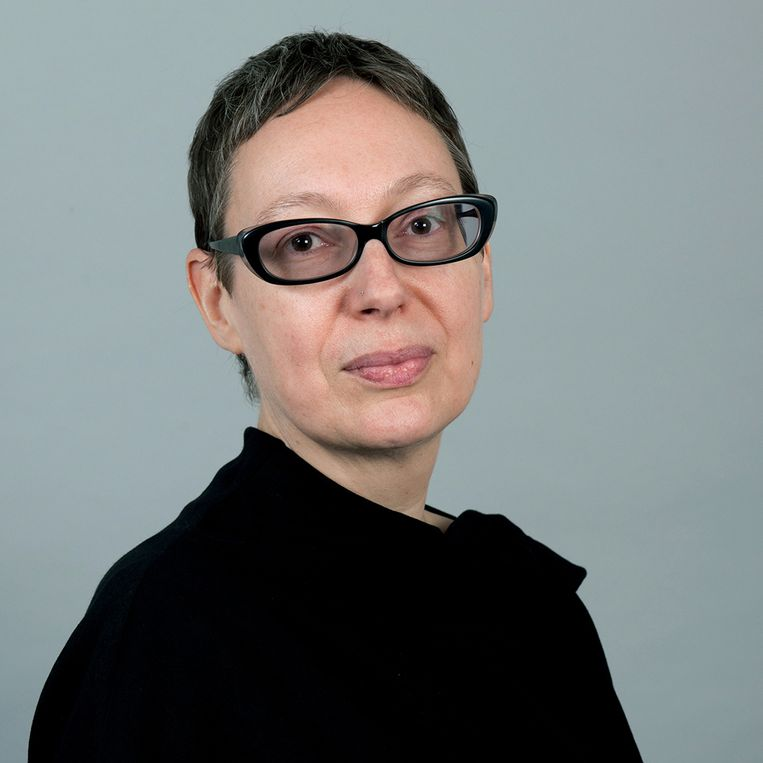 Manon Parry, hoogleraar medische geschiedenis aan de Vrije Universiteit van Amsterdam. Beeld