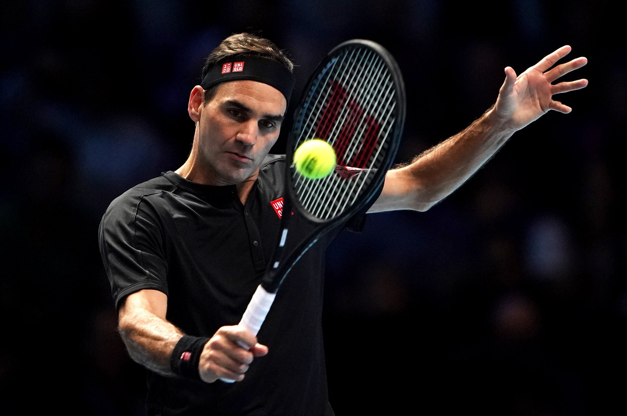 Roger Federer. Beeld Photo News