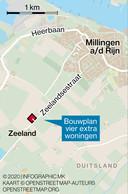 Geen geitenhouderij aan Zeelandsestraat in Millingen.